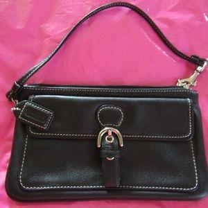 Black Coach Wallet / Small Purse